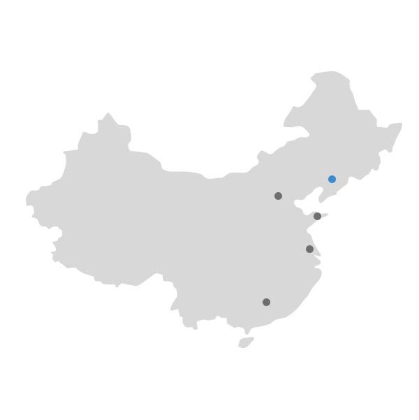 중국지도 이미지